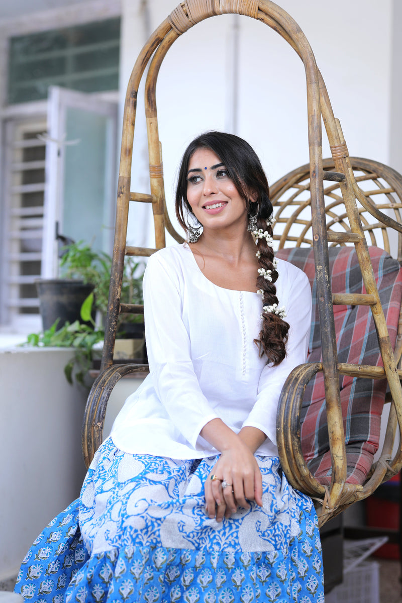 Charismatic White Kurta Set
