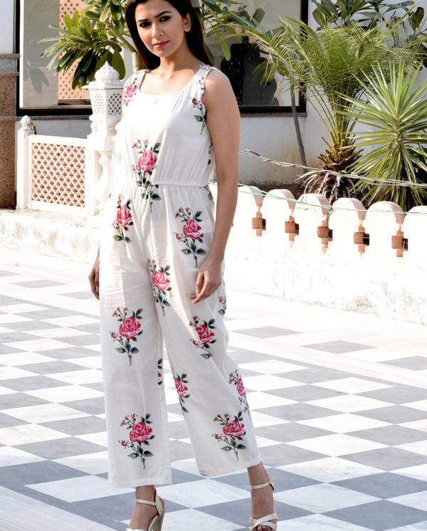 Beautiful Stylish Floral Jumpsuit