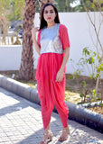 Exclusive dhoti dress