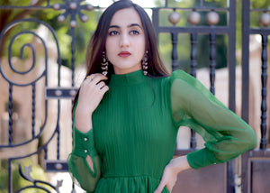 Exclusive green dress