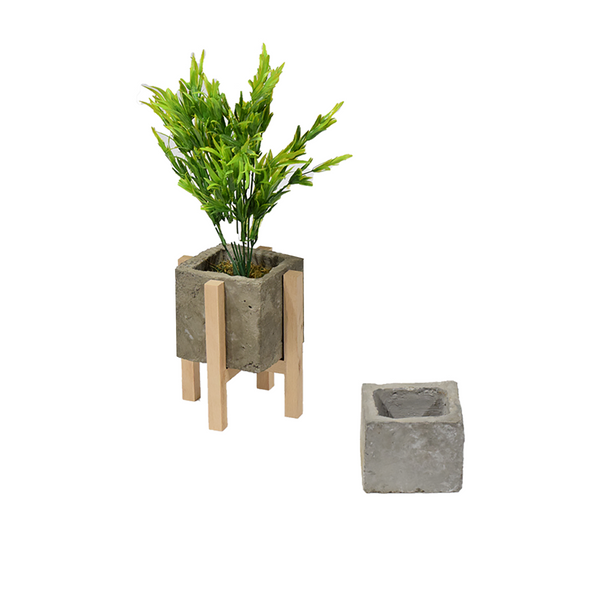 Flower pot with stand