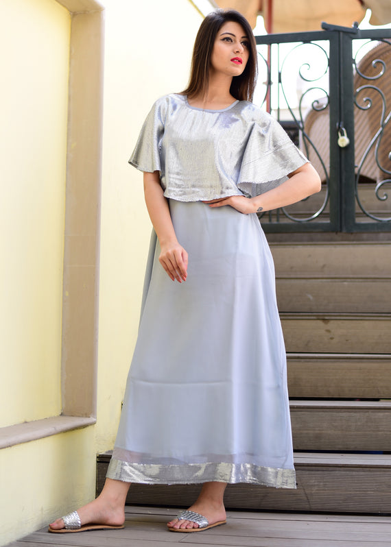 Exclusive grey gown