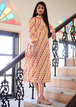 Exclusive Multicolour kurti