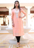 Exclusive gotta patti work kurti