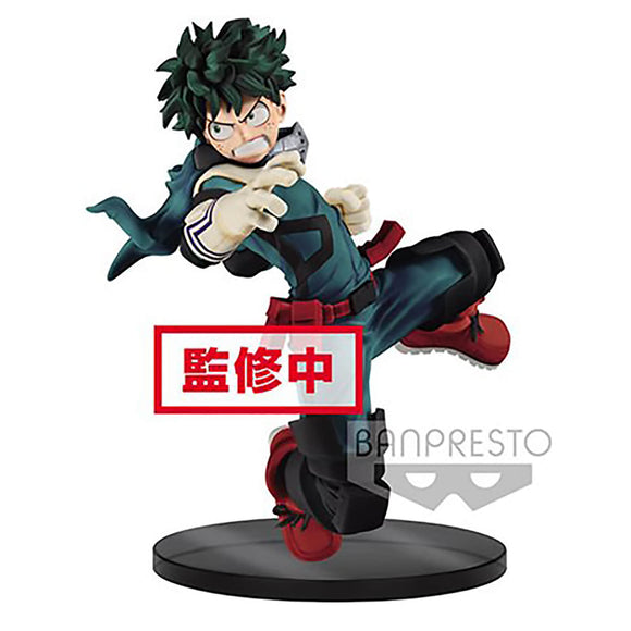 My Hero Academia - Izuku Midoriya The Amazing Heroes Figure Statue - Banpresto - 14cm