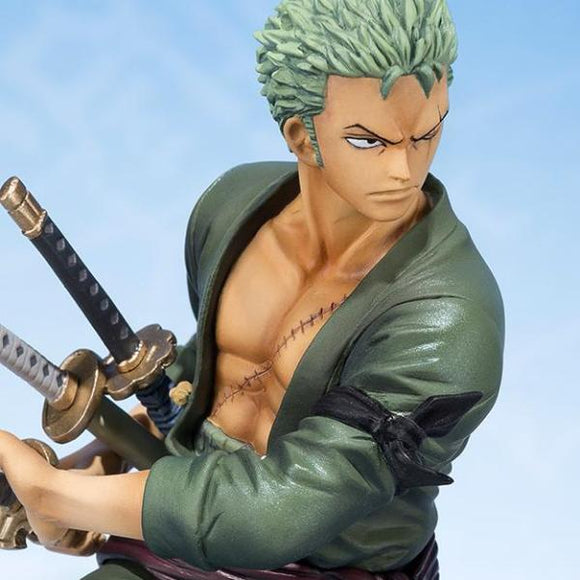 One Piece Zero - Zoro Drawing Sword Pose Statue - Bandai - Figuarts ZERO - 12cm