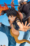 One Piece Zero - monkey luffy Dramatic Effect Figuarts ZERO Statue by Bandai closed up shot