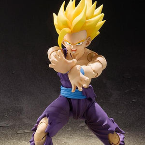 Dragon Ball Z - Super Saiyan Kid Gohan Action Figure - Bandai - S.H.Figuarts - 12cm