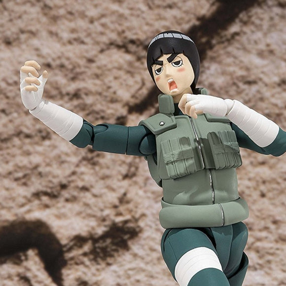 Naruto - Rock Lee Leaf's Handsome Devil Action Figure - Bandai - S.H.Figuarts - 16cm