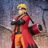 Naruto Shippuden - Naruto Uzumaki Sage Mode (Advanced Version) Action Figure - Bandai - S.H.Figuarts - front cropped