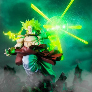 Dragon Ball Zero - Super Saiyan Broly Burning Battle Large Figure Statue - Figuarts ZERO - 32cm