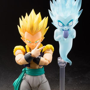 Dragon Ball - Super Saiyan Gotenks Action Figure S.H.Figuarts by Bandai front closed up shot