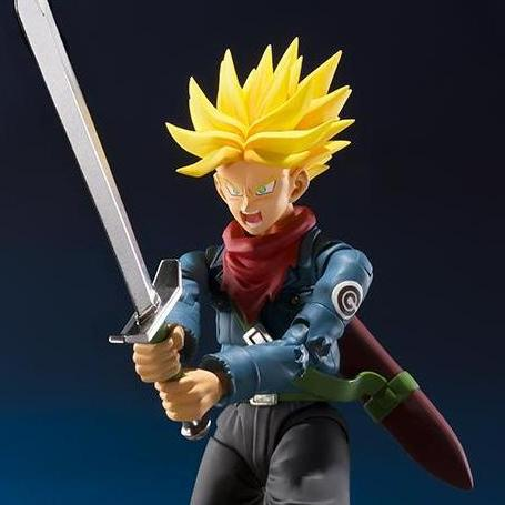 Dragon Ball - Super Saiyan Trunks Action Figure - Bandai - S.H.Figuarts