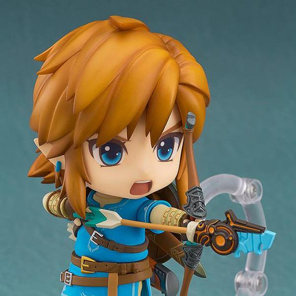 Legend Of Zelda: Breath Of The Wild - Zelda Nendoroid Link - Good Smile Company - 10 cm - front zoom in