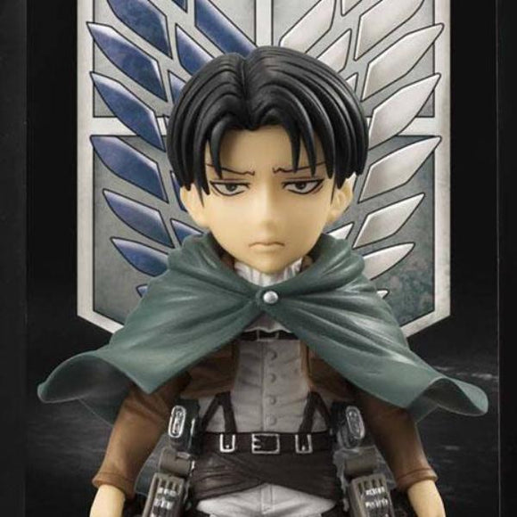 Attack on Titan - Levi Ackerman Background Frame Figure - Bandai - Buddies - 10cm
