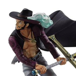 One Piece - Dracule Mihawk BWFC (Banpresto World Figure Colosseum) Vol. 3 Figure Statue by Banpresto closed up shot