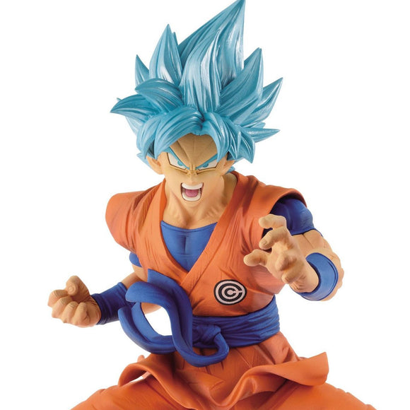Dragon Ball Herpes - Super Saiyan Son Goku Transcendence Art Figure Statue BY Banpresto UPPER BODY SHOT