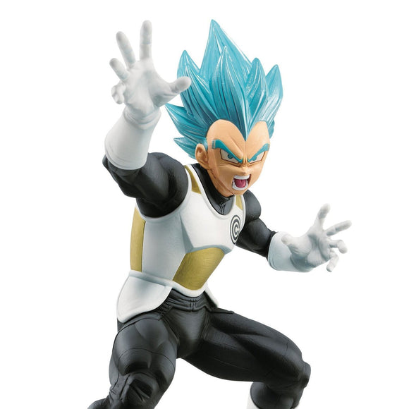 Dragon Ball Herpes - Super Saiyan Vegeta Transcendence Art Figure Statue BY Banpresto UPPER BODY SHOT