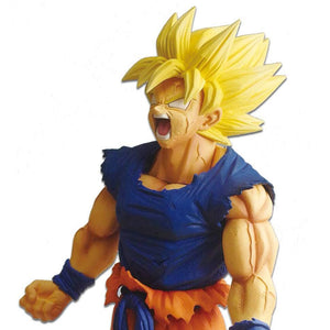 Dragon Ball Super - Super Saiyan Goku Legend Battle Large Figure Statue by Banpresto upper body shot