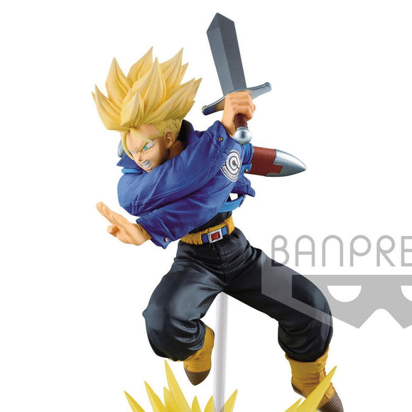 Dragon Ball Z - Super Saiyan Trunks Absolute Perfection Diorama Base Figure Statue by Banpresto