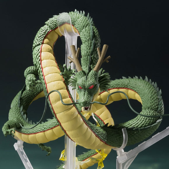 Dragon Ball Z Shenron S.H.Figuarts Action Figure by Bandai - front closed up shot