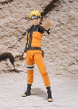 Naruto Shippuden Naruto Uzumaki Sage Mode S.H.Figuarts Action Figure by Bandai - front full body shot