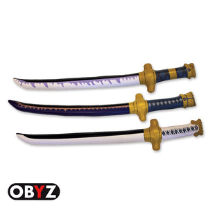 One Piece - Roronoa Zoro Cosplay Set of 3 Inflatable Swords - Obyz
