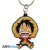 One Piece - Luffy Super Deformed Keychain - ABYstyle - front