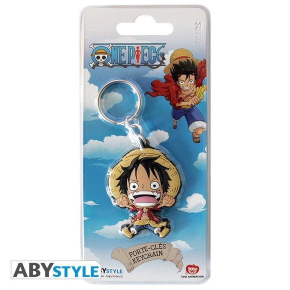 One Piece - Luffy Super Deformed Keychain - ABYstyle - with package