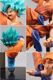 Dragon Ball Super - Goku Super Saiyan Blue High Kick Pose Action Figure Collectible Model - Banpresto - 18cm - zoom in collage