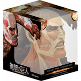 Attack on Titan Colossal Titan Bust inside box by Plastoy
