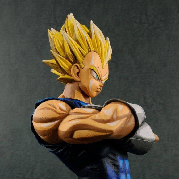 Dragon Ball Z - Super Saiyan Vegeta  Grandista Manga Dimensions Figure Statue by Banpresto upper body shot