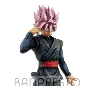 Dragon Ball Super - Black Son Goku Super Saiyan Rose Grandista Manga Dimension Large Figure Statue - Banpresto - 28cm