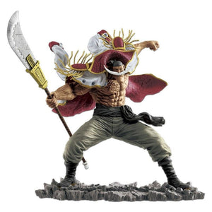 One Piece - Whitebeard Edward Newgate 20th Anniversary Figure Statue - Banpresto - 16cm