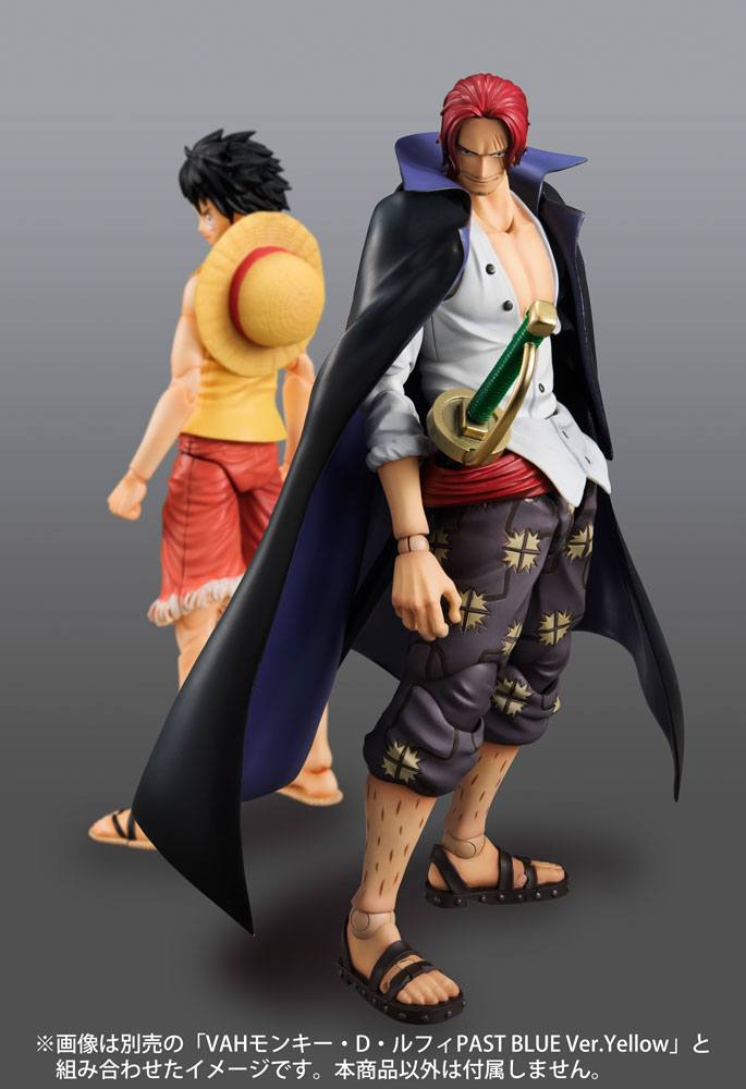 ONE PIECE Red-Haired Shanks Action Figure Megahouse Variable Action Heroes
