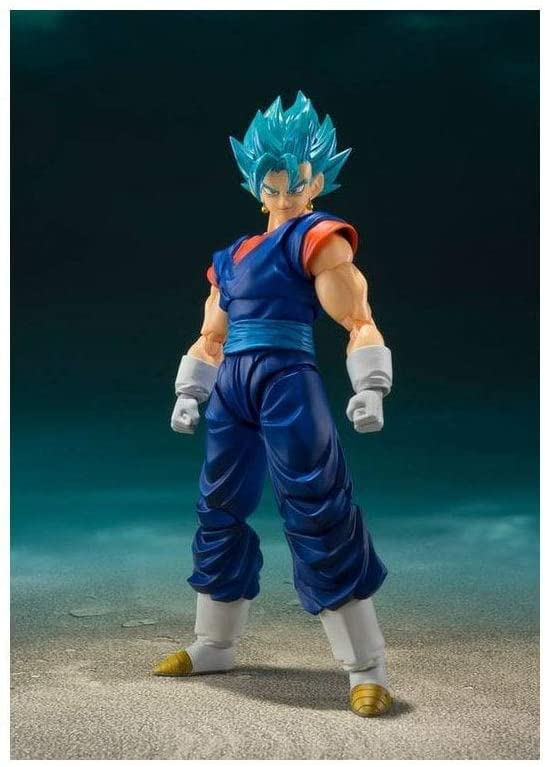 Super Saiyan God Super Saiyan Vegetto Vegito SH Figuarts 14cm Action Figure