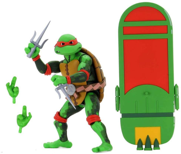 NECA TMNT Raphael Turtles In Time 7 Inch Scale Action Figure