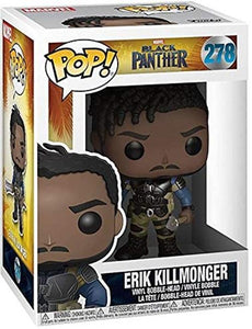 Funko Pop! Marvel: Black Panther - Erik Killmonger #278