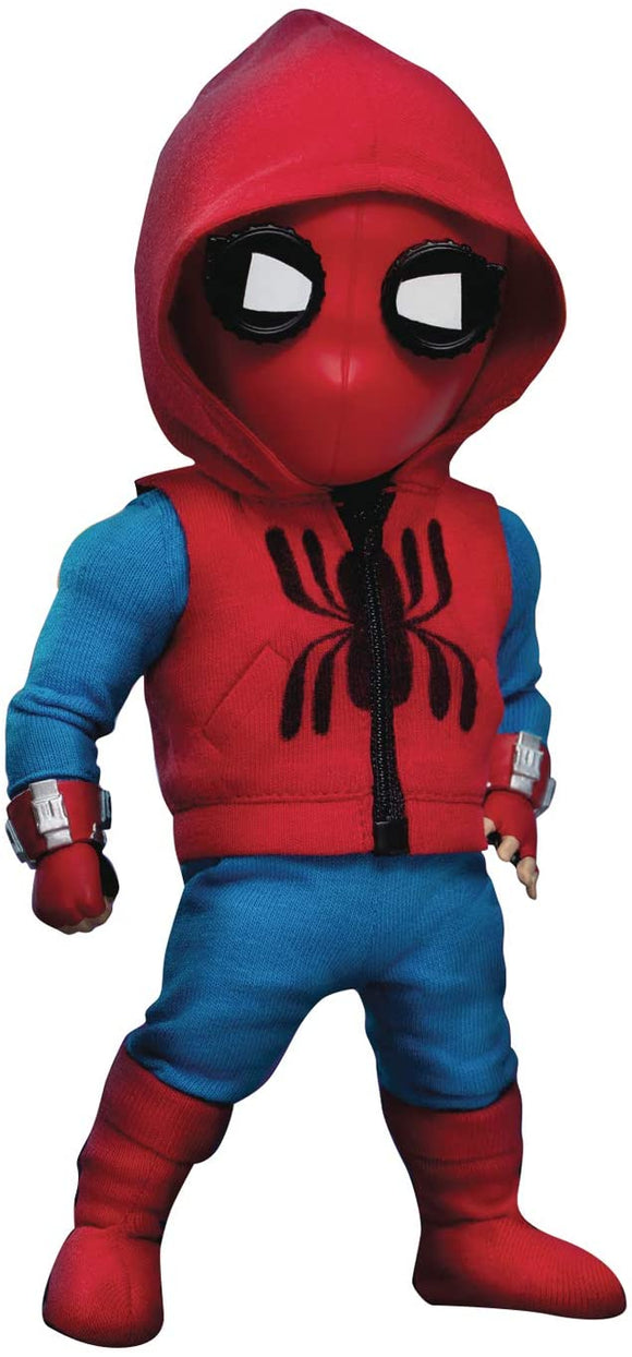 Beast Kingdom Spider-Man Homecoming: Spider-Man (Homemade Suit) EAA-074 Egg Attack Action Figure