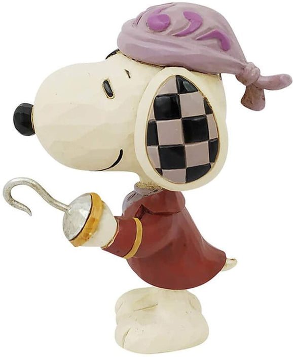 Enesco Peanuts by Jim Shore Mini Snoopy Pirate Figurine