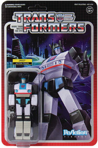 Super 7 Transformers: Jazz Reaction  Action Figure Brand New