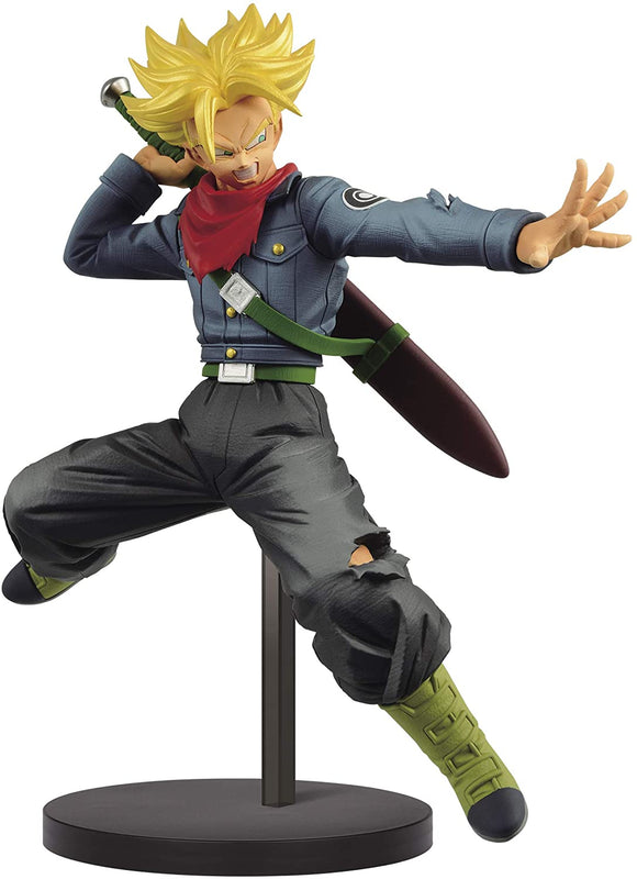 Banpresto Dragon Ball Super Chosenshiretsuden II Vol. 2 Super Saiyan Future Trunks 17cm Figure