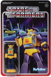 Super 7 Transformers: Bumblebee Reaction Figure Brand New On Card