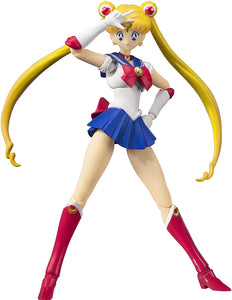 "BANDAI Tamashii Nations S.H. Figuarts Pretty Guardian Sailor Moon Animation Colour 6"" Action Figure"