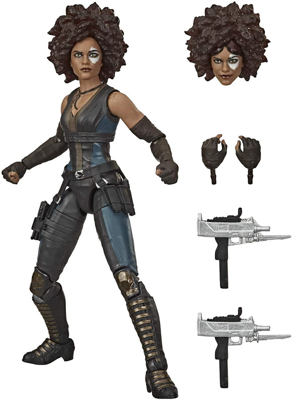 Hasbro Marvel Legends Series X-Men 15-cm Collectible Marvel's Domino Action Figure Toy, Ages 14 And Up