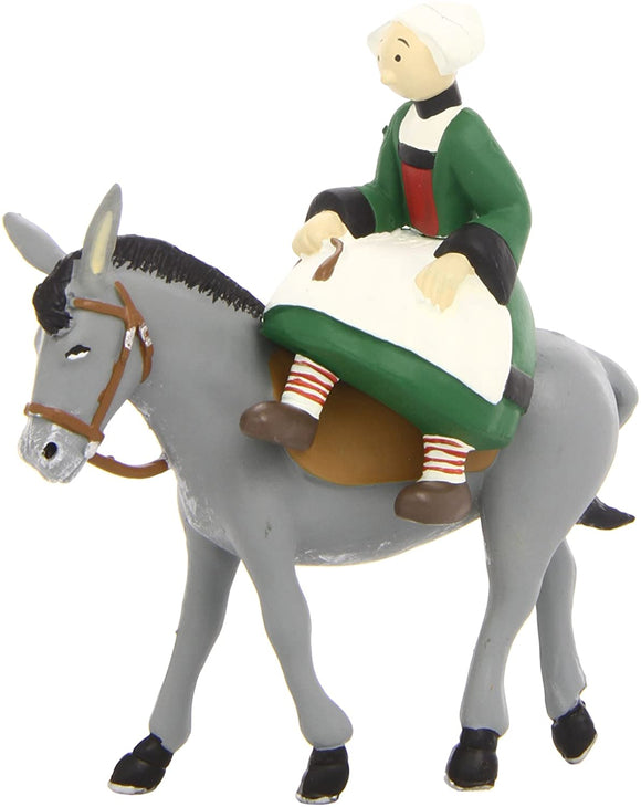 Plastoy 61013 BECCASSINE Lady on Mule Back Figure