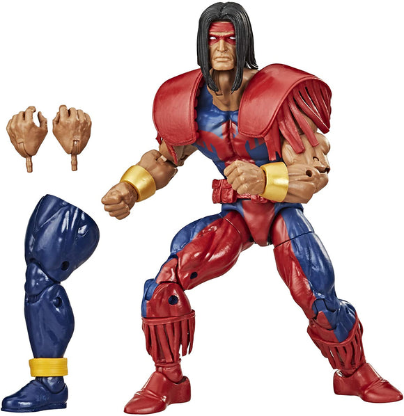 Hasbro Marvel Legends Marvel's Warpath 6