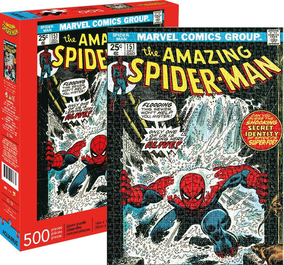 Marvel Spider-Man Cover Cover 500 pc Puzzle 14