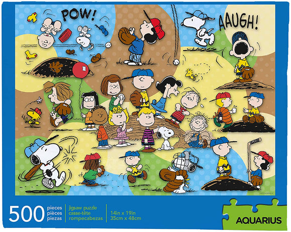 AQUARIUS Peanuts Baseball 500 pc 14