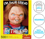 AQUARIUS Chucky Puzzle (500 Piece Jigsaw Puzzle) - Officially Licensed Chucky Merchandise - 14 x 19 Inches